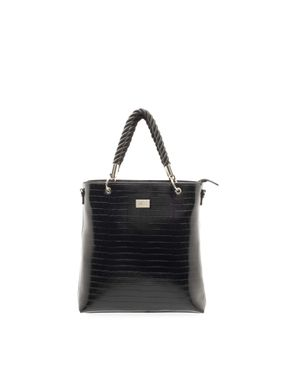 tote-croco-manijas-twisted-negro-grey