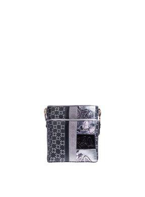 Balde-juliana-mediano-con-bolsillo-negro-plata-primario-borboletras